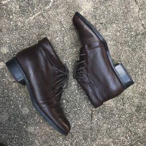🍂Vintage leather booties🍂